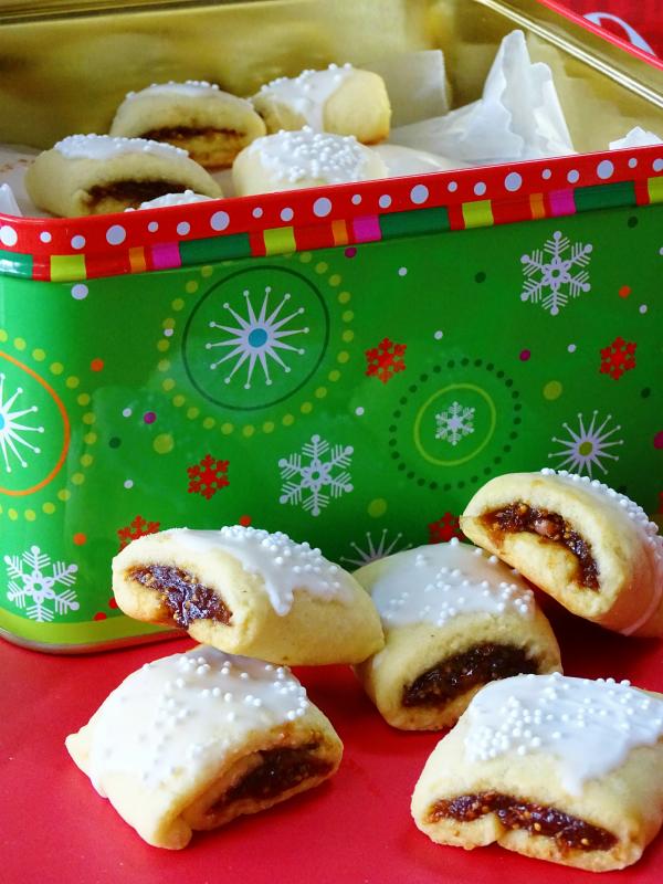 cucidati Italian fig cookies