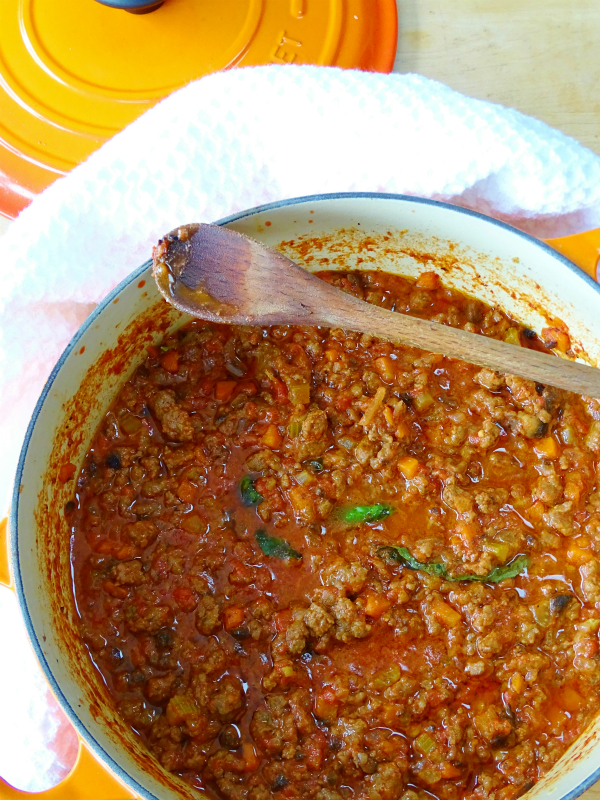 Quick and easy bolognese sauce true comfort food proud italian cook bolognese sauce forumfinder Images