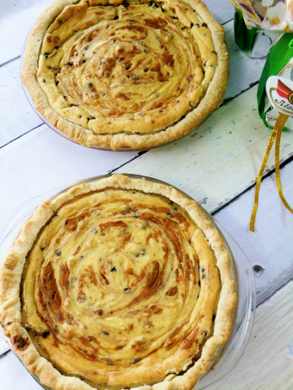 easter ricotta pies