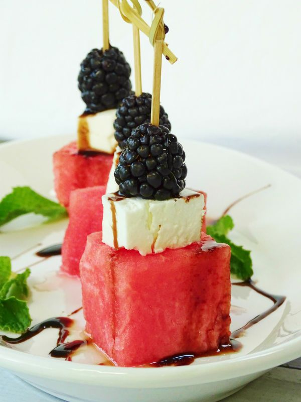 watermelon skewer