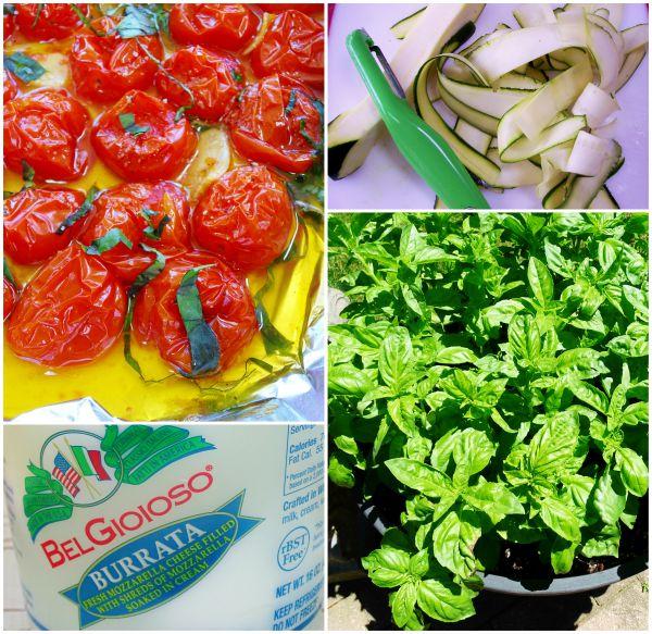 zucchini pasta ingredients