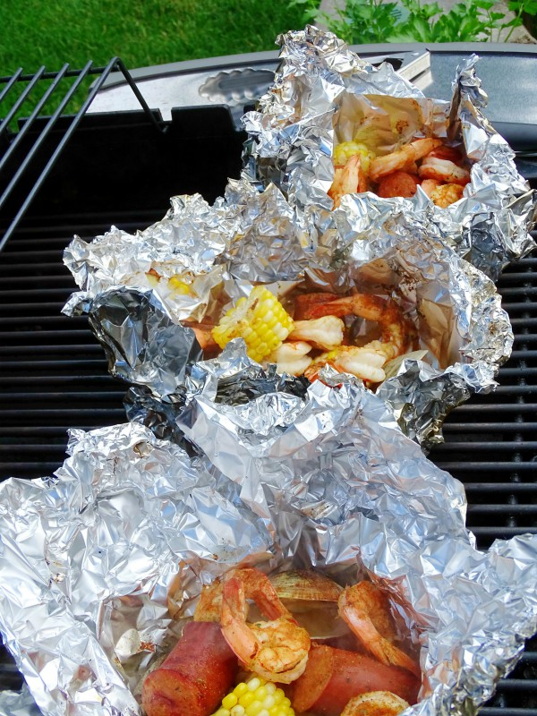 grilled clambake
