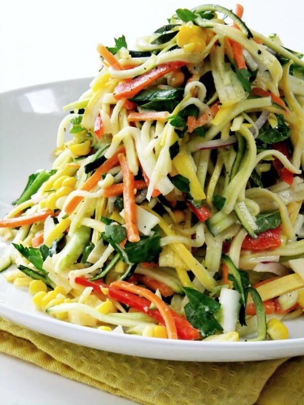 zucchini veggie slaw