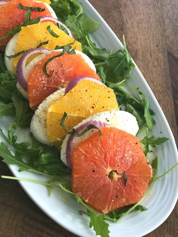 citrus caprese