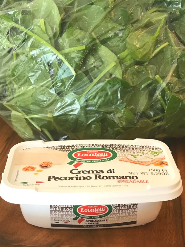 spinach and creama