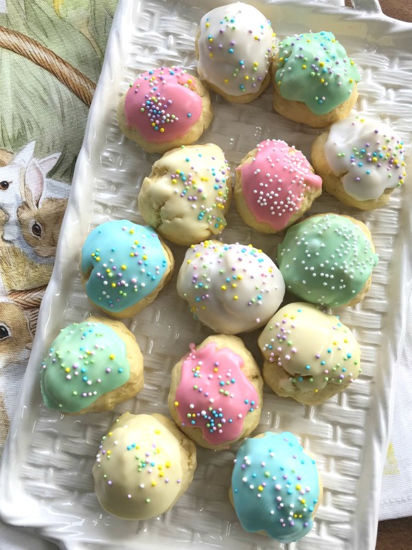 Italian Anise Cookies For Easter And Beyond Proud Italian Cook
