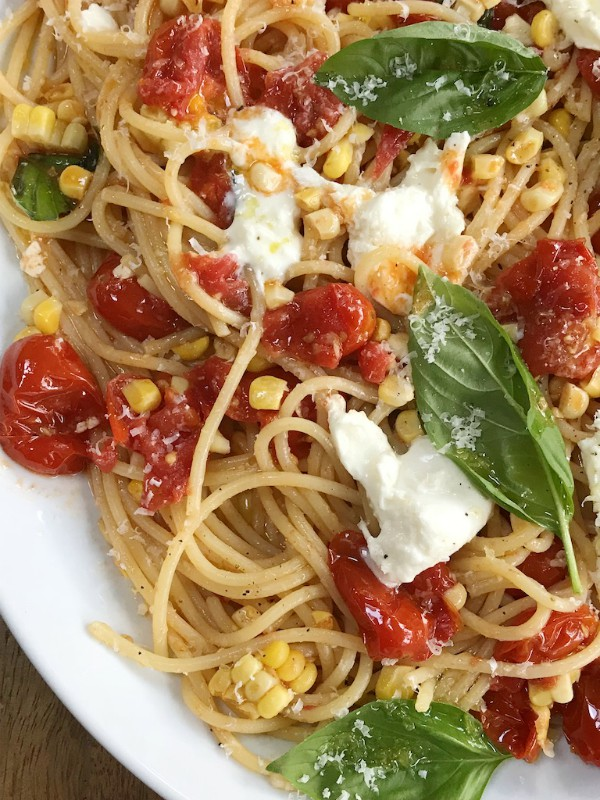 spaghetti with tomatoes