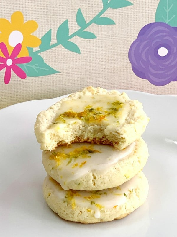 triple zested ricotta cookies