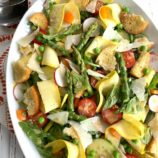 Springtime Panzanella Salad
