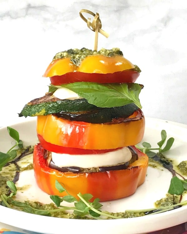 vegetable caprese