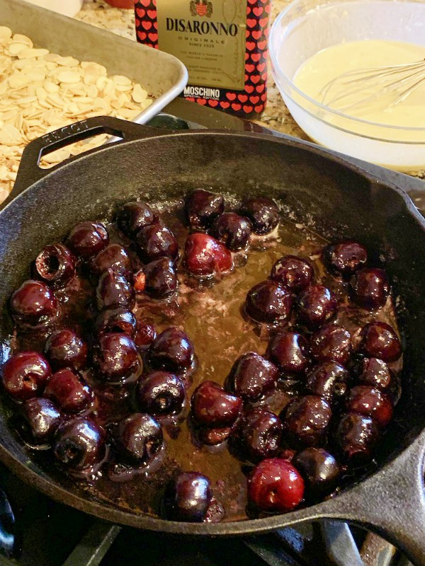cooked cherries