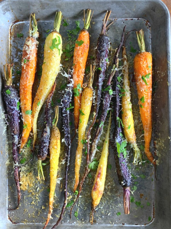 roasted carrots