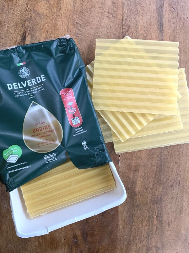 no boil pasta sheets