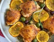 chicken thighs with orange