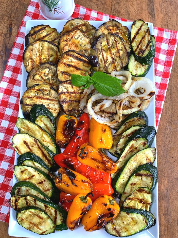 grilled veggie tray