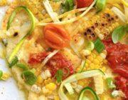 summer veggie polenta