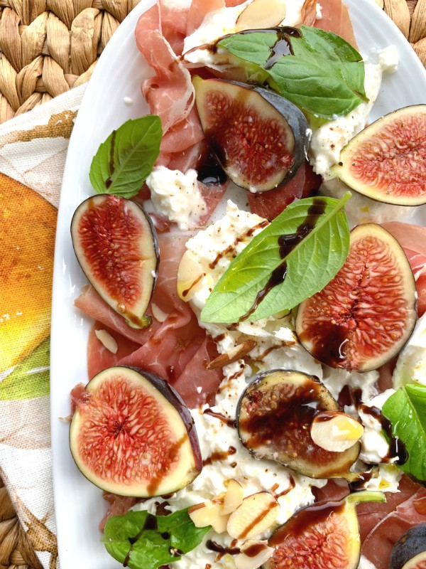 fig and burrata