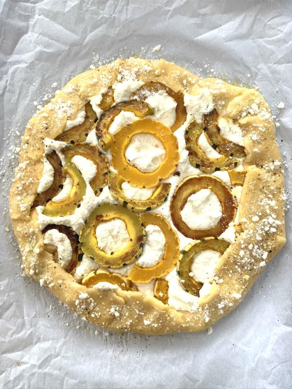 pre baked tart