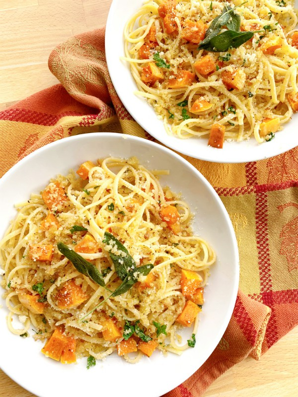 pasta and squash