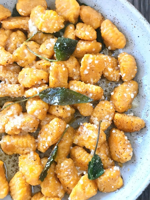 pan of gnocchi