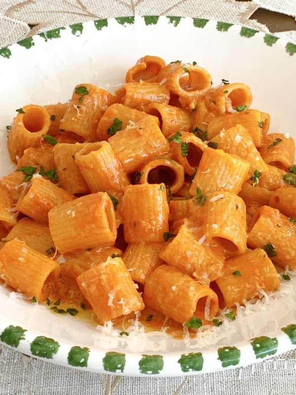 pasta and vodka cream sauce