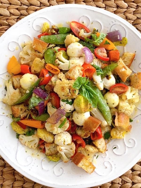 veggie panzanella