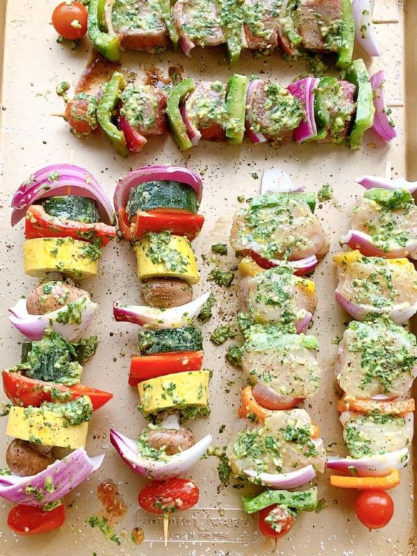 marinated kabobs