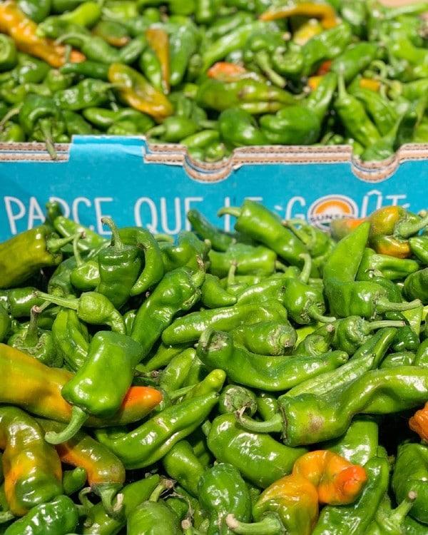 farm fresh peppers